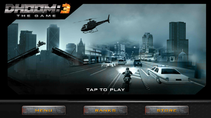 DHOOM-3 the Game for Windows 7/8/10 PC/DHOOM 3 Game Download