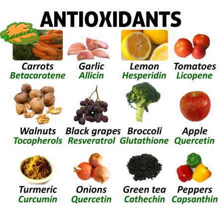 antioxidants rich food. arenteiro