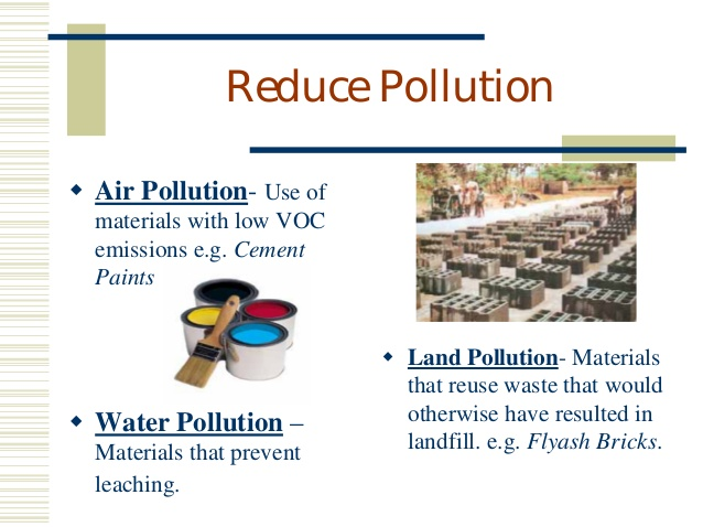 eco friendly building materials pollution: arenteiro uses of reduce pollution eco