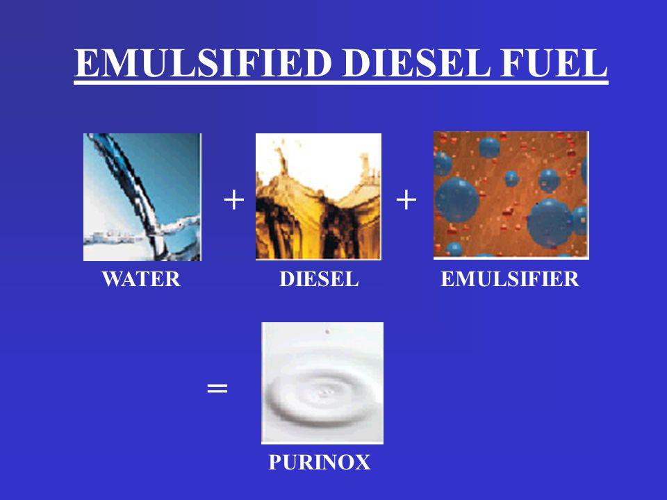Emulsified Diesel