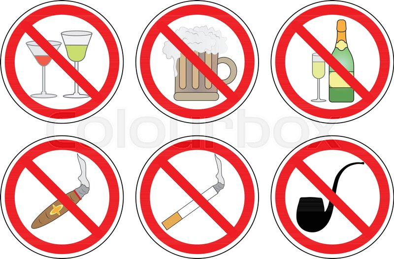 Smoking and Drinking of Alcohol.  arenteiro