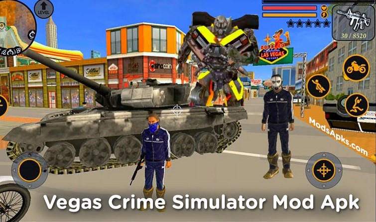vegas crime simulator mod apk download