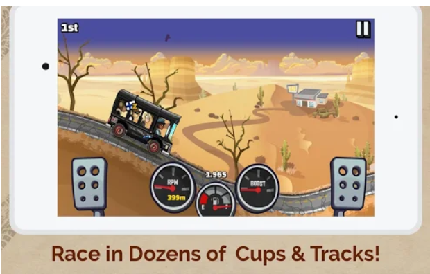 Features of Hill Climb Racing 2 MOD-arenteiro