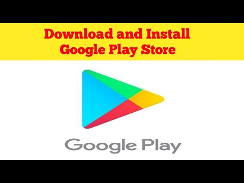 How to install Google play store for android-arenteiro