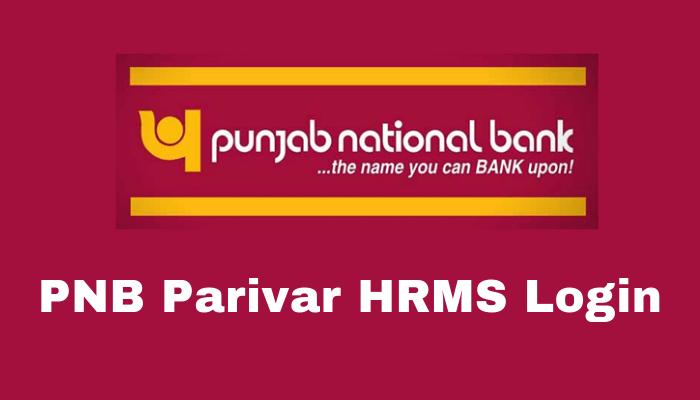 PNB Parivar HRMS Login-arenteiro