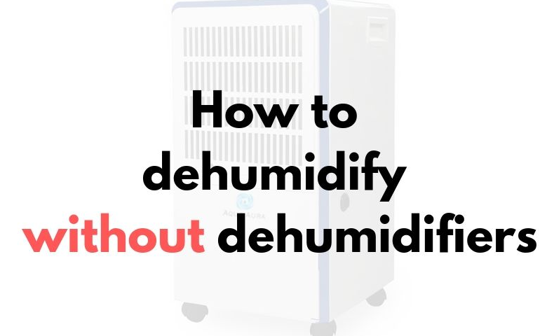 Some of the ways to use a dehumidifier