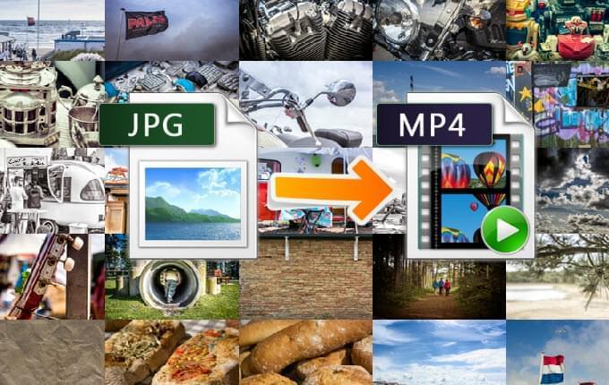 Best 3 ways to convert JPG to MP4: