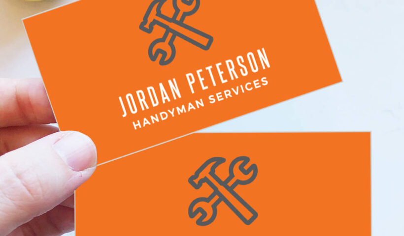 How To Choose A Template For Your Handyman Business Card?