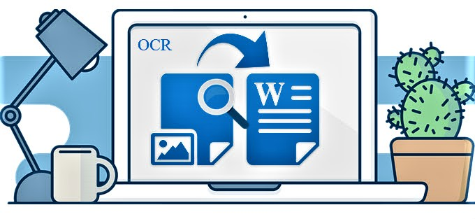 How to convert a graphical content into a textual content by using OCR technology