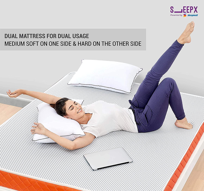 SleepX Dual mattress – Medium Soft and Hard-arenteiro