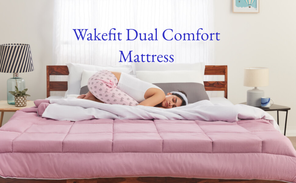 Wakefit Dual Comfort Mattress -arenteiro