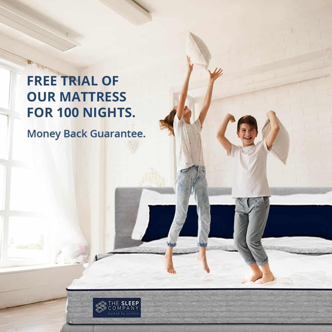 The Sleep Company 2.0 Smart Grid Mattress-arenteiro