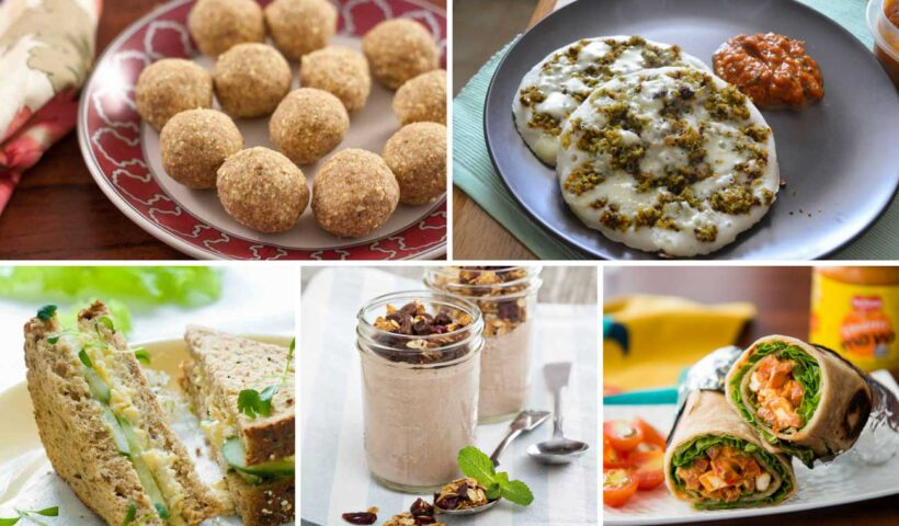 8 Healthy Snacks to Satisfy Your Hunger Pangs & Cravings