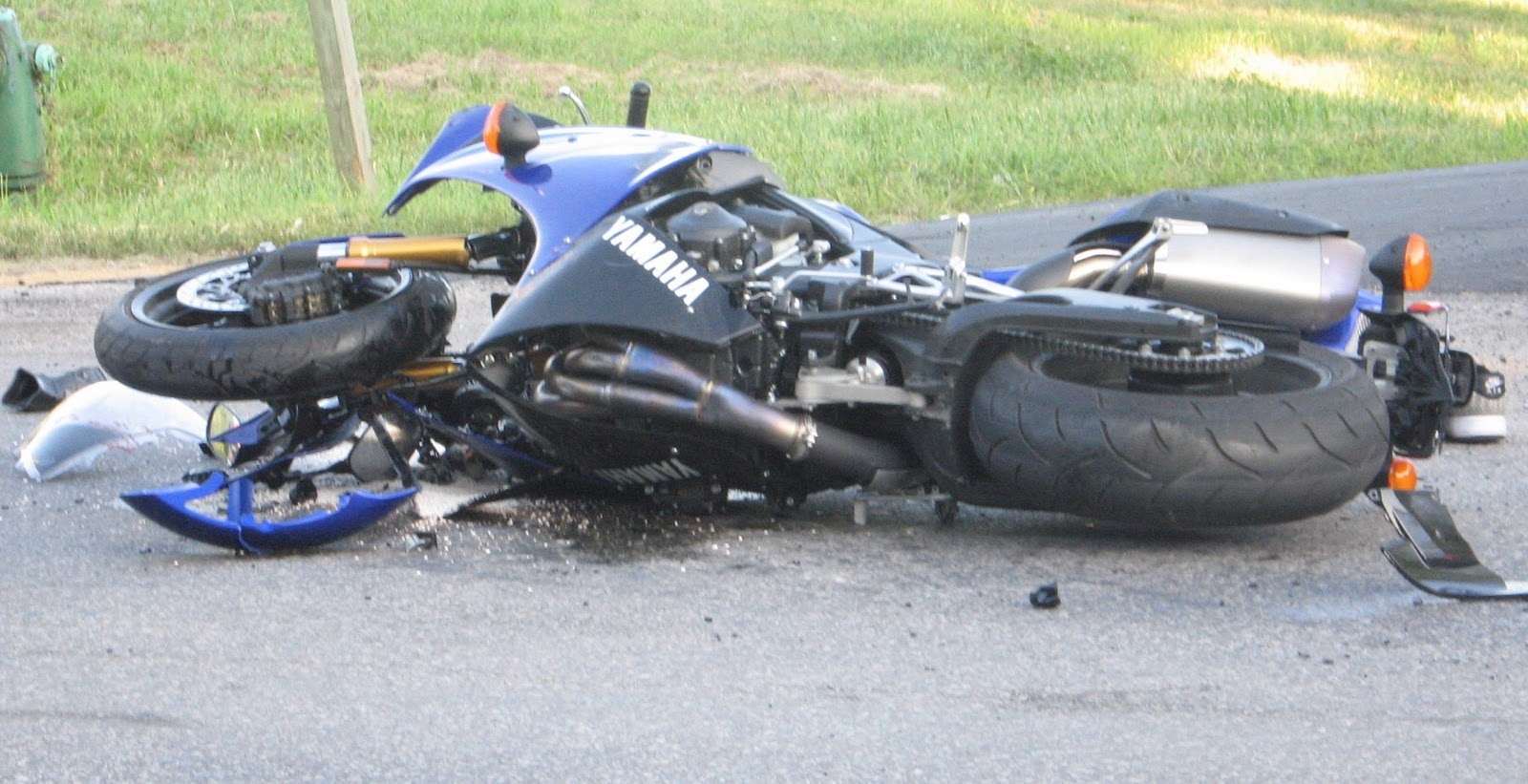 Involved in a Motorcycle Accident? What to Do After the Crash